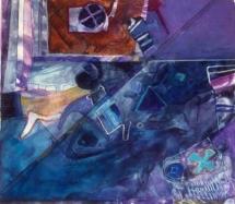 "Untitled, 24"" x 26"" Monoprint"